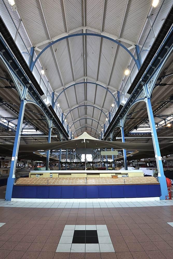 Photo des halles de Dijon